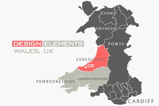 Design Elements, Graphic Designer, Ceredigion, Wales, UK